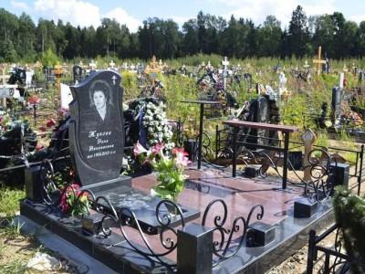 Цветники и памятники на могилу