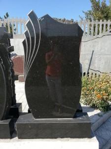 Стандартная стелла для гранитного памятника №5