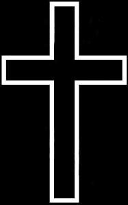 Гравировка крестика для памятника КР1