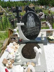 Православные детские гранитные памятники на могилу