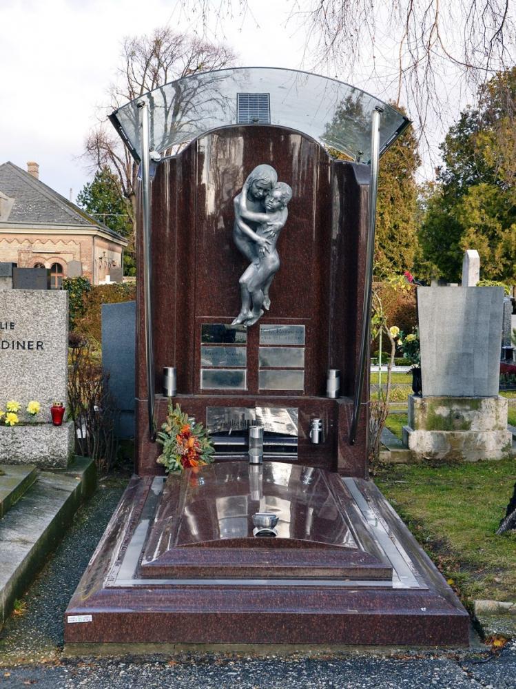 Эксклюзивный надгробный памятник из токовского гранита