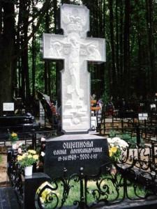 Эксклюзивный надгробный памятник в виде креста