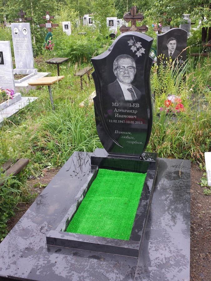 Вертикальный памятник на могилу отца