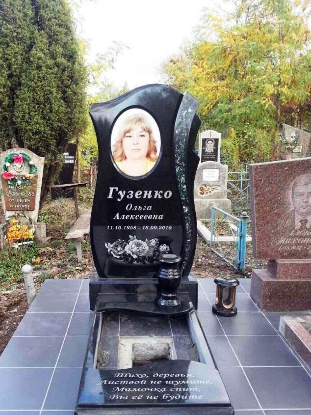 Головинский гранит для надгробного памятника