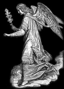 Гравировка святого ангела РС15
