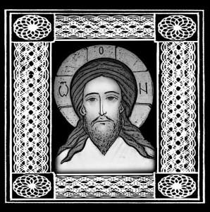 Гравировка с Иисусом Христом ИК36