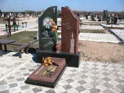 Элитный надгробный памятник на могилу отца