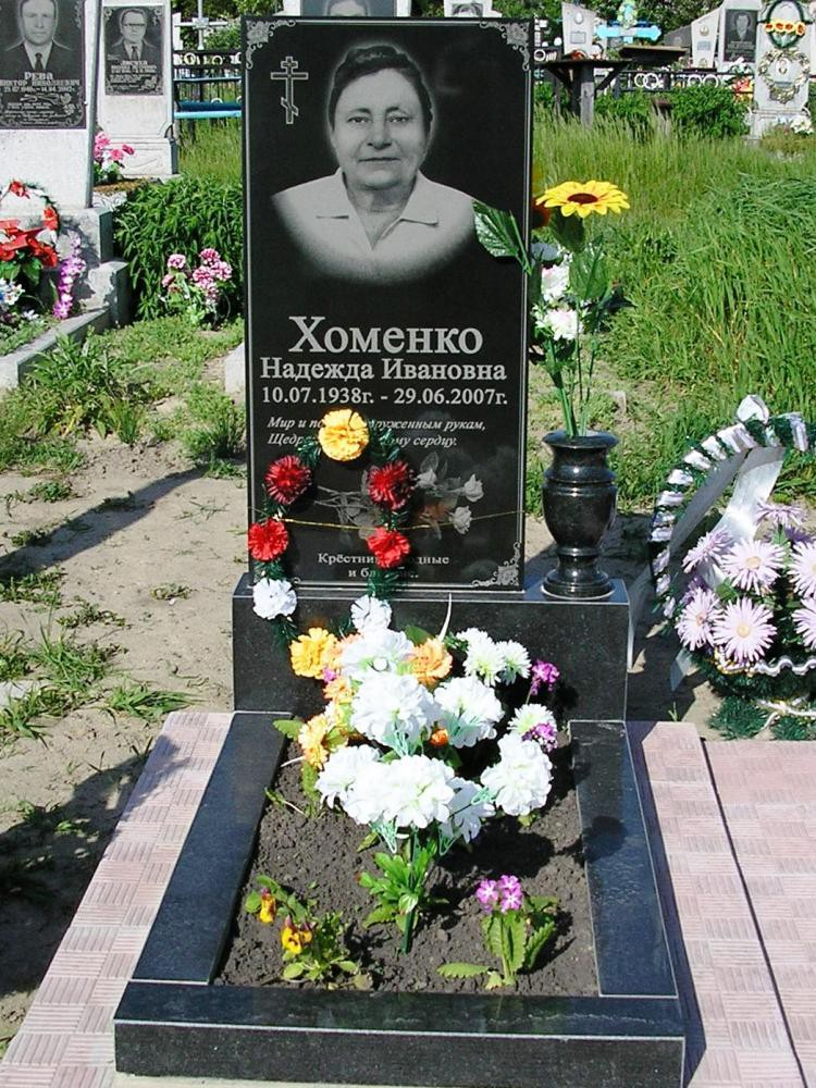 Букинский гранит для одинарного памятника
