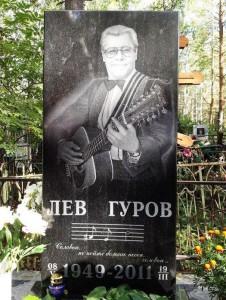Надгробный памятник для гитариста