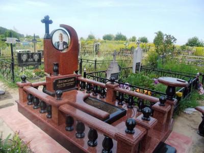 Могильный мемориальный комплекс для отца