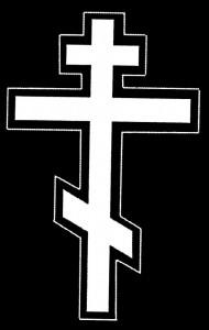 Гравировка белого креста КР7