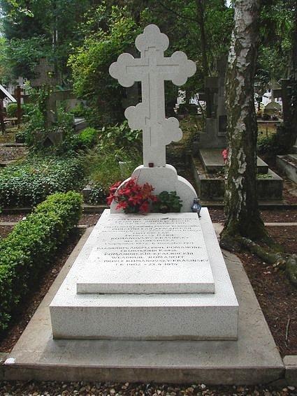 Крест серого цвета на могилу
