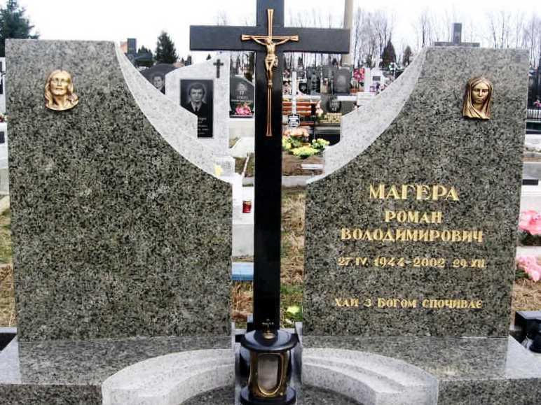 Масловский гранит для двойного памятника