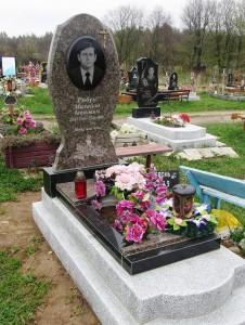 Цветовая гамма гранитного памятника фото