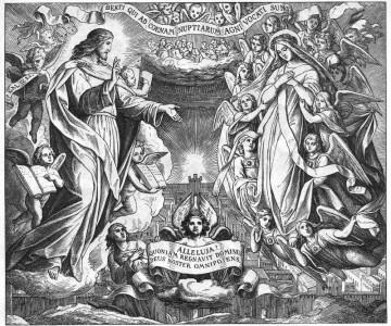 Гравировка Небесный Иерусалим РС21
