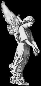 Гравировка ангела РС10