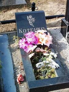Памятник на могилу младенца
