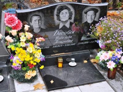 Тройной ритуальный памятник