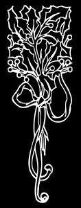 Гравировка цветов ЦВ28