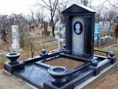 Элитный классический памятник для мужчины