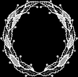 Гравировка круглой виньетки ВН12