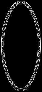 Гравировка овальной виньетки ВН23