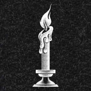 Гравировка свечи на памятник СВН18
