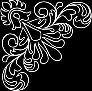 Гравировка орнаментом уголка У27
