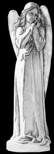 Гравировка девушки ангела РС7