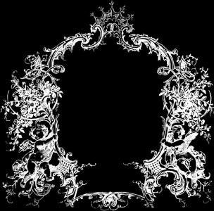 Гравировка виньетки с орнаментом ВН5
