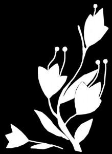 Гравировка цветов на граните ЦВ35