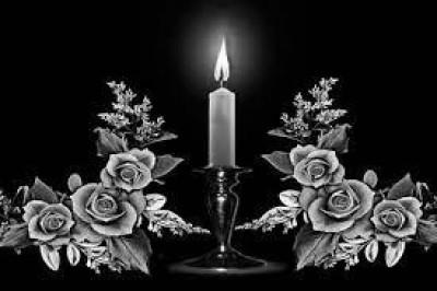 Гравировка свечи и цветов СВН19