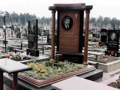 Гранитный мемориальный комплекс фото