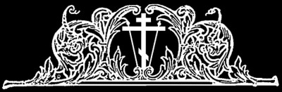 Гравировка креста с орнаментом КР18