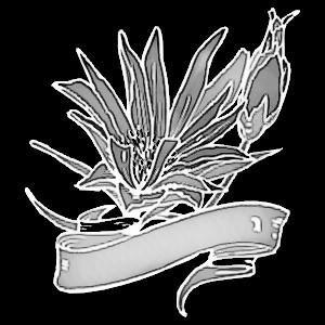 Гравировка цветов на граните ЦВ11