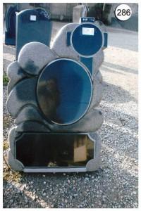 Стандартный дизайн резной стеллы памятника №286