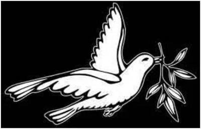 Гравировка голубя 20