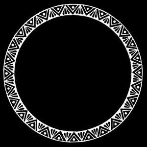 Гравировка круглой виньетки ВН22
