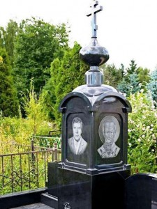 Купол на надгробный памятник фото