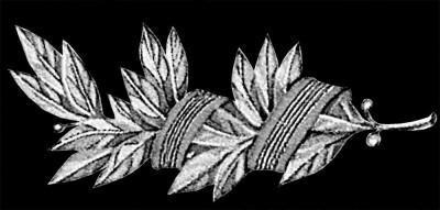 Гравировка ветки оливы ДВ6