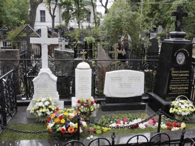 Элитный надгробный памятника из мрамора и гранита для семьи