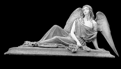 Гравировка ангела РС3