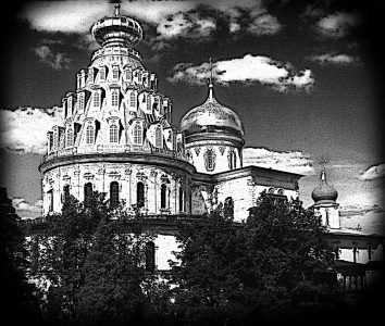 Гравировка Христианского храма Ц2