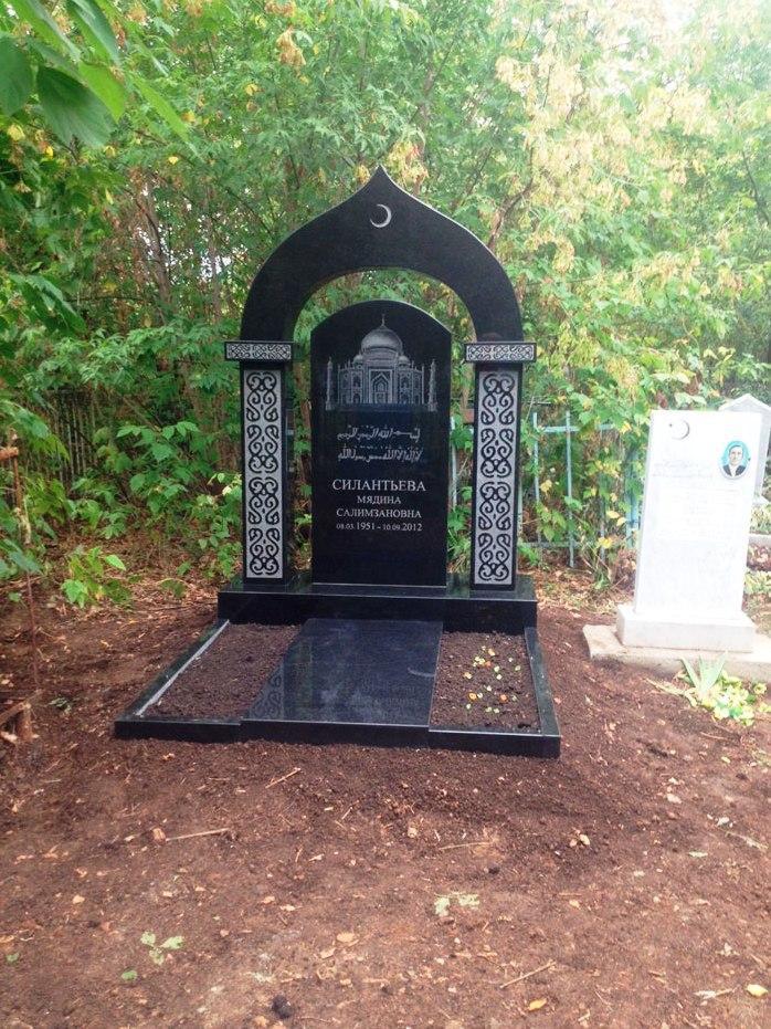 Памятник надгробие мусульманское фото