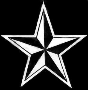 Гравировка звезды на памятник ЭО4