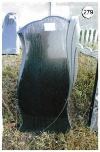 Стандартный дизайн гранитной стеллы №279