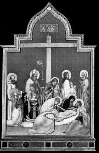 Гравировка Снятие Христа с креста ИК-34