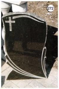 Фигурная резная стелла стандартная №272