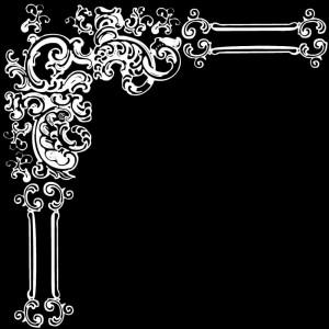 Гравировка уголка с орнаментом У17