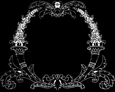 Гравировка виньетки с орнаментом ВН21